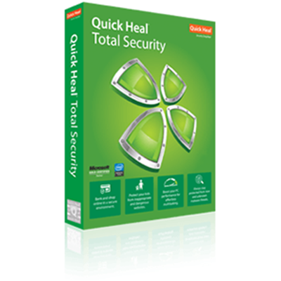 Quick Heal Total Security - 1 User - 1 Year